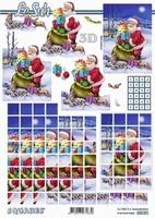 630221 Le Suh Pyramids kerstman