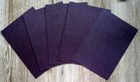 5 Vel karton A4 210 gr. metallic donker bruin  voor kaarten