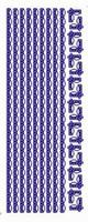 ST213G Stickers Randen Goud