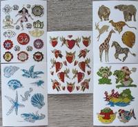 5 Stickertjes 7,5 X 10 cm