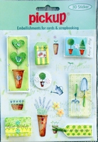 PU3009 Embellishments for Cards and Scrapbooking