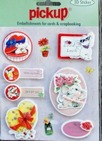 PU3106 Embellishments for Cards and Scrapbooking