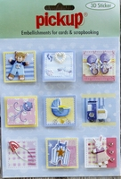 PU3121 Embellishments for Cards and Scrapbooking