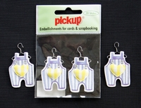 PUK1052 Embellishments for Cards and Scrapbooking
