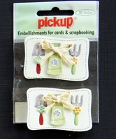 PUK1059 Embellishments for Cards and Scrapbooking