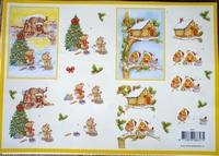 VB8657 A4 knipvel kerst