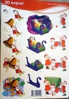 VB2114 A4 knipvel kerstman