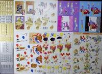 Aanbieding Geslaagd 5 A4 knipvellen + 4 stickers 10X23cm