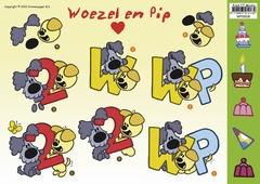WP-10018 Woezel en Pip Cijfers