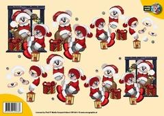 CW10011 Creddy world Kerstman