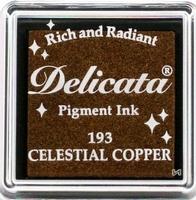 DE-SML-193 Delicata small inkpads Celestial copper