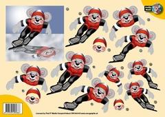 CW10019 Creddy World Schaatsen