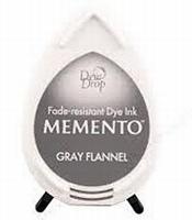 MD902 Memento Inkpad Dewdrops Gray Flannel