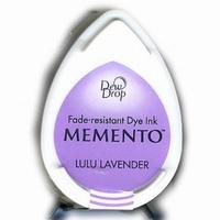 MD504 Memento Inkpad Dewdrops Lulu Lavender