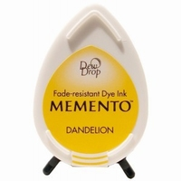 MD100 Memento Inkpad Dewdrops Dandelion