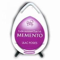 MD501 Memento Inkpad Dewdrops Lilac posies