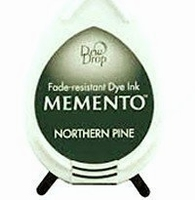 MD709 Memento Inkpad Dewdrops Nothern pine