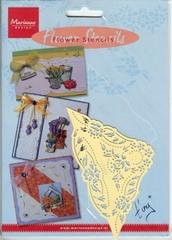 EE3437 - Marianne Design Tiny`s Flower stencil 3