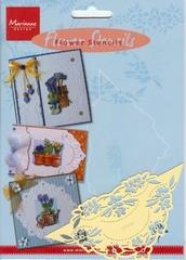 EE3438 - Marianne Design Tiny`s Flower stencil 4