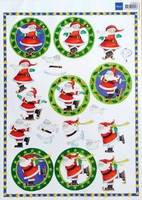 3DHM004 Marianne Design Kerst
