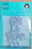 SF1106 Clearstamp Marianne Design Stampfairy Design