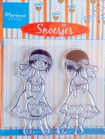 HM9430 Clearstamp Marianne Design Snoesjes