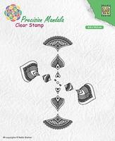MANCS002 Precision Mandala Clear stamps Mandala-2