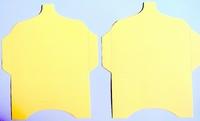 SK004 - 2 Knutselcadeau enveloppen Geel