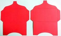 SK013 - 2 Knutselcadeau enveloppen  Rood