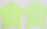 SK019 - 2 Knutselcadeau enveloppen Lichtgroen