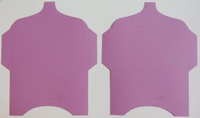 SK037 - 2 Knutselcadeau enveloppen Lavendel