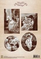 NEVI025 A4 sheet vintage tales
