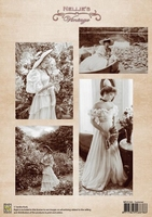 NEVI026 A4 sheet vintage summer
