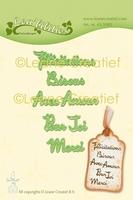 45.5985 Leabilitie® Franse teksten snijmal