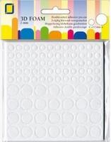 3.3122 3D Foampads rounds 2mmx12mmx2mm