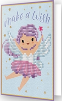 DDG.011 Diamond Dotz® - Greeting Card MAKE A WISH