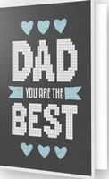 DDG.013 Diamond Dotz® - Greeting Card BEST DAD