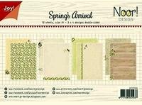 6011/0656 Papierset - Noor - Design - Spring's Arrival
