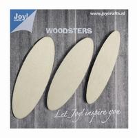 6320/0002 Woodsters Wooden Ellipses