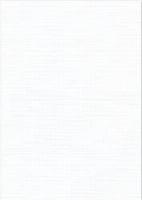 Vierkant karton 13,5 X 27 cm  Nr 01 Wit per 5 vel