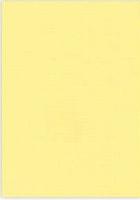 Vierkant karton 13,5 X 27 cm  Nr 04 Geel per 5 vel