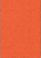 Vierkant karton 13,5 X 27 cm  Nr 11 Oranje per 5 vel