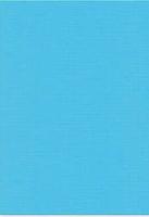 Vierkant karton 13,5 X 27 cm  Nr 29 Hemelsblauw per 5 vel