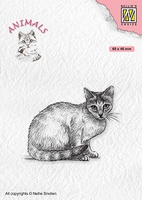 ANI023 Clear Stamps Animals Cat