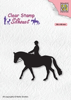 SIL068 Clear stamps Men-things Horseman