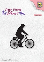 SIL072 Clear stamps Men-things Cyclist