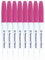 8.9027 Permanent Marker Roze per stuk