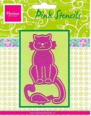 PK9005 - Pink Stencils Marianne Design