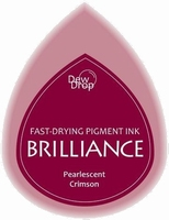 BD-000-062 Brilliance Dew Drops inkpads Pearlescent Crimson