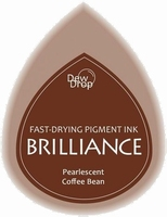 BD-000-054 Brilliance Dew Drops inkpads Coffee Bean